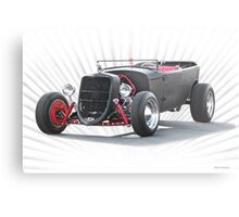 Ford 'Jalopy Style' Hot Rod Metal Print