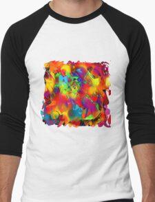 Swinging Sixties in Colour Men's Baseball ¾ T-Shirt