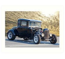 1931 Ford HiBoy Coupe 'Morning Sky' Art Print