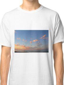 Sunset at the sea in Rimini Classic T-Shirt