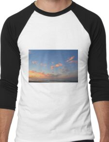 Sunset at the sea in Rimini Men's Baseball ¾ T-Shirt