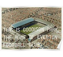 Everton Football Club Poster