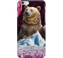 Bear King of the Ice Planet iPhone Case/Skin