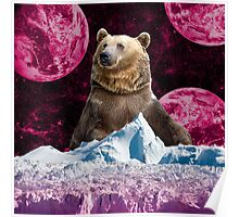 Bear King of the Ice Planet Poster