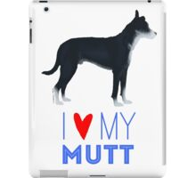 Mutt Love: Black and White iPad Case/Skin