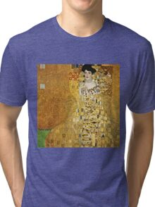 Gustav Klimt - Portrait Of Adele Bloch Bauer, 1907  Tri-blend T-Shirt
