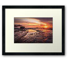 Coalcliff colour splash Framed Print