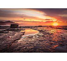 Coalcliff colour splash Photographic Print