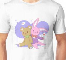 Rabbit Hugs Unisex T-Shirt