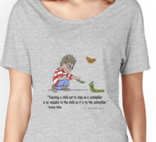 Teaching a child compassion! Women's Relaxed Fit T-Shirt