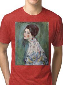 Gustav Klimt - Portrait Of A Lady 2 Tri-blend T-Shirt