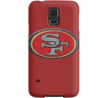 Steel San Francisco 49ers Logo Samsung Galaxy Case/Skin