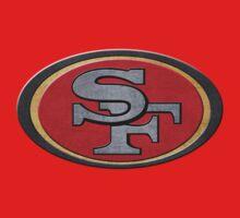 Steel San Francisco 49ers Logo T-Shirt