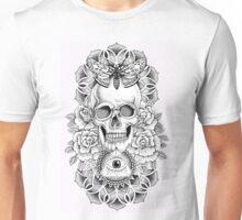 Soul Seeker Floral Skull Unisex T-Shirt