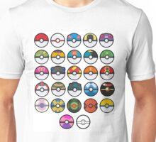 More pokeballs. Unisex T-Shirt