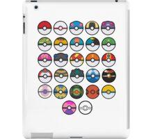 More pokeballs. iPad Case/Skin