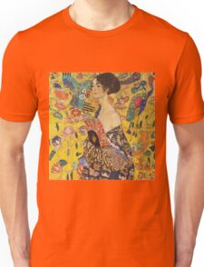 Gustav Klimt - Lady With Fan 1918 Unisex T-Shirt