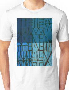 blue fence Unisex T-Shirt