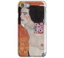 Gustav Klimt - Judith Ii Salome 1909  iPhone Case/Skin