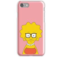Tina Simpson iPhone Case/Skin