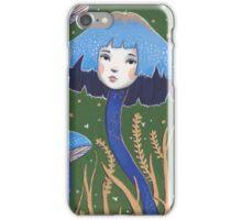 Uncommon Variety - Blue Mushroom iPhone Case/Skin