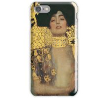 Gustav Klimt - Judith And The Head Of Holofernes 1901 iPhone Case/Skin