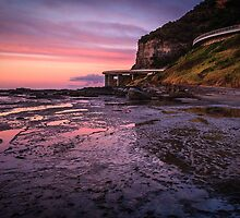 Sea Cliff Road at dawn by Chris Brunton