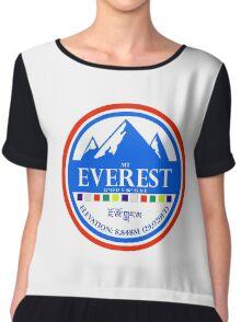 Mount Everest Chiffon Top