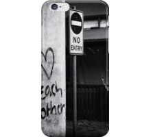 Love each Other iPhone Case/Skin