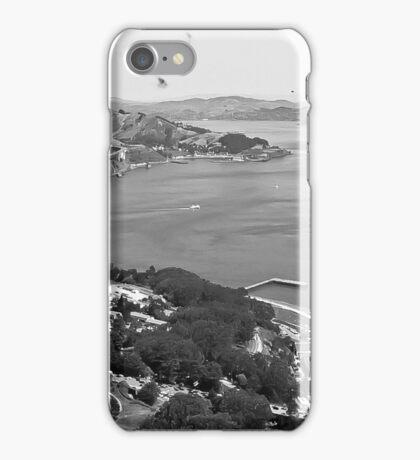 Golden Gate Blanco y Negro  iPhone Case/Skin