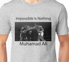 Muhammad Ali Impossible Is Nothing Unisex T-Shirt