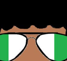 Nigeria Natural Sticker