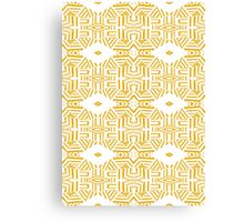 Mordern touch to Tribal Canvas Print