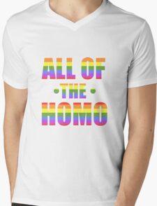 All of the Homo Mens V-Neck T-Shirt