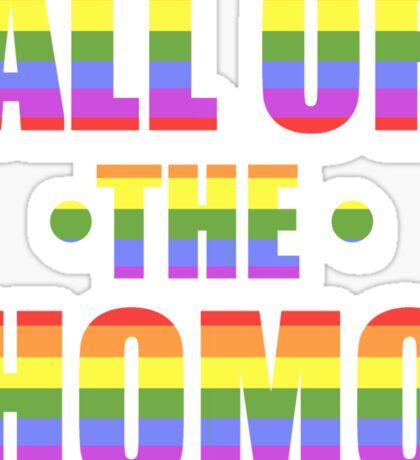 All of the Homo Sticker
