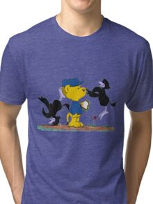 Ferald and The Pesky Crows Tri-blend T-Shirt