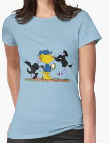 Ferald and The Pesky Crows Womens Fitted T-Shirt