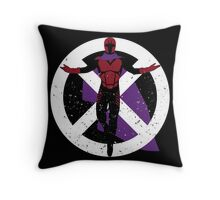 The Master of Magnetism Throw Pillow