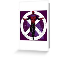 The Master of Magnetism Greeting Card
