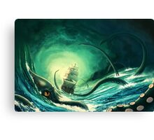 Kraken - version 2 Canvas Print
