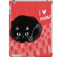I heart Meow! iPad Case/Skin