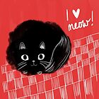 I heart Meow! by Emma Hampton