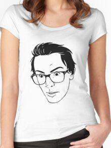 idubbbz Women's Fitted Scoop T-Shirt
