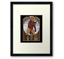 Rocket Man. Framed Print