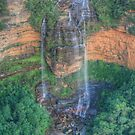 Wentworth Falls from Prince's Lookout by Michael Matthews