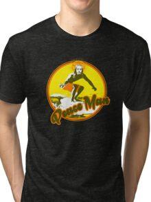 Surfer Jesus Tri-blend T-Shirt