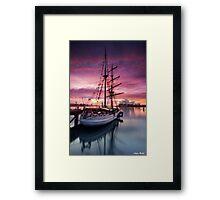 The Tall Ship Framed Print