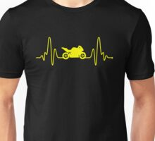 HeartBeat Motorbike Unisex T-Shirt