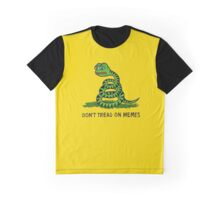 Don't Tread On Memes Graphic T-Shirt