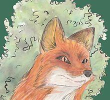 Fox by pokegirl93
